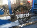 HydralicのタイヤDebeaderか販売のためのタイヤワイヤー延伸機
