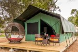大きいスペース二重屋根が付いている贅沢なサファリのテント