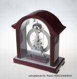 Reloj de madera hermoso para la decoración K3038n del escritorio