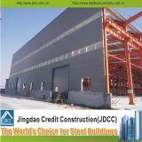 Edificio prefabricado de la estructura de acero del panel de emparedado