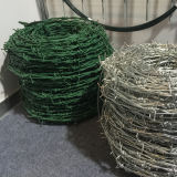 "1.5 milímetros de alambre, 5 "" que espaciaban, PVC cubrieron el alambre de púas acordeón"