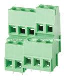 Поднимая блок винта PCB струбцины терминальный (WJEK500A/508A-5.0/5.08mm)