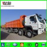 Sinotruk HOWO 8X4 Hw76cabの商業ダンプトラックのダンプカートラック