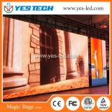 Энергосберегающая стена видеоего полного цвета СИД P4.8mm напольная крытая