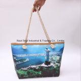 Single-Sided印刷の景色のキャンバス袋