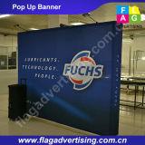 Водоустойчивая ткань хлопает вверх стойка индикации для рекламировать или торговой выставки