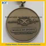 Medalhas, material da liga do zinco, para a maratona