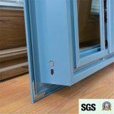 Ventana de desplazamiento de aluminio revestida del polvo del estilo de Australia de la buena calidad, ventana de aluminio, ventana K01152