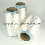 Cortar el hilado cubierto fibra resistente de UHMWPE para los guantes antis del corte (el color rojo del UA)