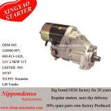 디젤 엔진 시동기는 Komatsu 포크리프트 Fd20 OEM 부호를 적합하다: 1280009970, 1280009971