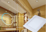 4W SMD2835 AC95-240V White Square LED Panel Light