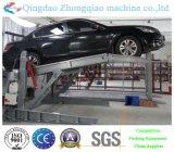 Гидровлический столб 2 опрокидывая подъем стоянкы автомобилей автомобиля