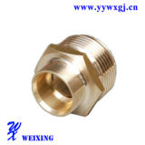 Ajustage de précision hydraulique de tuyau mâle droit