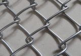 中国Anping GalvanizedおよびPVC Coated Chain Link Security Fence Mesh (&Galvanized Factory PVC)