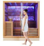 Camera asciutta 2016 di sauna della nuova parete chiara della giada del fornitore di sauna della Cina (M-6055)