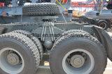 420HP HOWO A7の頑丈なトラクターヘッドトラック6X4