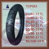 Reifen 60/80-17tl, 70/80-17tl, 80/80-17tl, 90/80-17tl, 60/90-17tl, 70/90-17tl, 80/90-17tl, 80/100-14tl des ISO-Nylonmotorrad-6pr