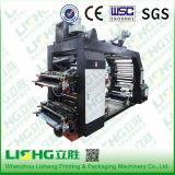Impresora hidrográfica de Flexo del control de la película plástica de 4 colores