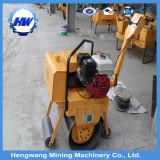 Hersteller-hydraulische manuelle einzelne Trommel-Straßen-vibrierendrolle (HW-600)