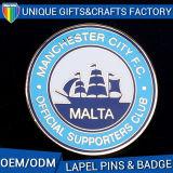 Distintivo su ordinazione del metallo del commercio all'ingrosso di formato dei nuovi prodotti