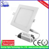 20W quadratische vertiefte LED Panel-Decken-Lampe/Licht