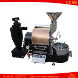 Kleine Kaffeeröster-Maschine der Kaffee-Bratmaschinen-Gas-Wärme-1kg