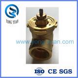válvula motorizada interna 2-Way do corpo de válvula da linha (BS-838)