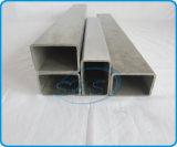 Pipes rectangulaires d'acier inoxydable