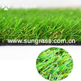 庭のための装飾的な緑の人工的な草を美化している総合的な泥炭の草