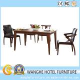 Tables et chaises de restaurant en bois de loisirs pour café