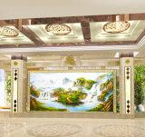 キャンバスの卸し売りハンドメイドの景色の油絵、ホテルの装飾の絵画、ホーム装飾の絵画