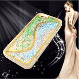 Lo nuevo S Line Glitter Moving Líquido Accesorios de teléfonos móviles para el iPhone 6 Caso