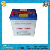 La aprobación JIS del IEC estándar seca la batería de almacenaje cargada del coche 12V36ah