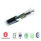 60 de Optische Kabel van de Vezel van de kern met de Plastiek Met een laag bedekte Band van het Aluminium