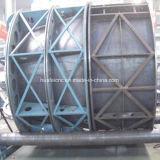 Completare la strumentazione della saldatrice del serbatoio del rimorchio del camion semi