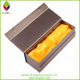 Boîte de empaquetage à vin de cadeau de fermeture magnétique de papier de luxe