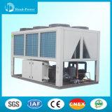 Refroidisseur d'eau refroidi par air du type pompe marin de vis de la chaleur R407
