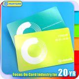 billet ultra-léger Smart Card du papier mince E de 13.56MHz MIFARE pour la métro