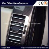 винил волокна углерода волокна Film/5D лоснистый Carbon/5D углерода 5D