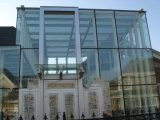 Glace d'espace libre de flotteur de film du bâtiment PVB de sûreté de miroir de guichet