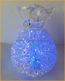 Kerstmis Glass Angel met LED Light