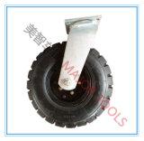 Roda de borracha pneumática do rodízio do pneumático de 16 polegadas