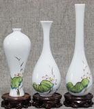 نمط [هند-بينتد] زخرفيّة سطح طاولة إناء زهر [شنس] خزف إناء زهر بيضيّة يجهّز هبات خزريّة