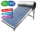 Calefator de água solar de alta pressão do coletor solar de câmara de ar de vácuo da tubulação de calor do aço inoxidável