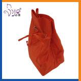 Sacchetto sveglio arancione di trucco di formato del sacchetto di Drawstring di colore