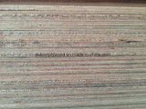 Madera contrachapada de Gurjan del grado del control de calidad centímetro cúbico AA AAA para la India