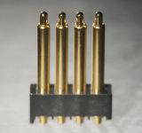 Le contact électrique examiné par 100% de pouvoir en laiton goupille le connecteur à broches de Pogo