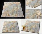 木の穀物の一見は無作法な磁器の床タイルの装飾の使用を艶をかけた