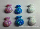 Saco chinês Opal criado de Fu para o ajuste da jóia