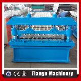 Het golf Broodje die van het Blad van het Dakwerk van het Metaal Machine van het Comité van het Staal van de Machine de Dak Gekleurde vormen